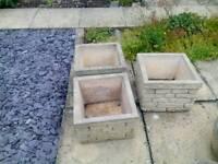 Garden Pots Stone