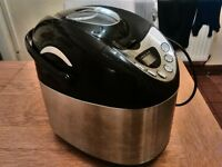 Cookworks bread maker stainless steel