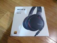 SONY MDR-1A BLACK Premium High-Resolution Audio Headphones Original / Brand New