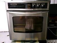 Electric fan assisted oven delivered and installed today