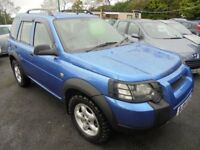 LANDROVER FREELANDER 1796cc SE S/W 5 DOOR 4 WHEEL DRIVE 2004-04, ONLY 62K FROM NEW