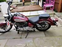 Yamaha dragster xvs 125