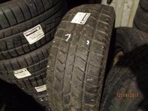 LT265/70R17 SINGLE ONLY USED ARTIC CLAW WINTER TIRE