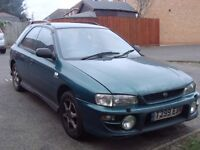 Subaru Impreza 1999 Sport 2.0l AWD Clasic Sport Car Perfect Condition Need Body Work