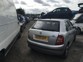 SKODA FABIA CLASSIC 8V 2001- FOR PARTS ONLY
