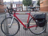 Orbea City Lente Triple 27speed Road Bike Lrg58cm Liteweight 7005 Alloy Frame Shimano Ultegra Gears.
