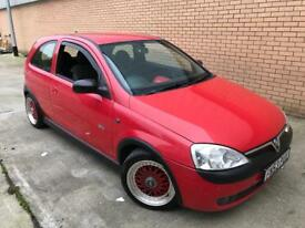2003/53 Vauxhall Corsa SXI 1.2 16v 3dr Hatchback * NICELY MODIFIED * BBS,STAINLESS,LOWERED,OMP *