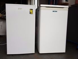 Two under counter fridge freezers