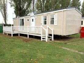 MUCH LOVED HOLIDAY HOME FOR SALE STATIC CARAVAN WITH DECK & INCLUDES PITCH FEES TILL 2019 ESSEX !