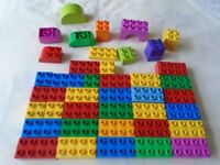 7 Lego Duplo Train Bases And Two Vehicles All Nice Condition Free Uk Post Construction & Building Toys