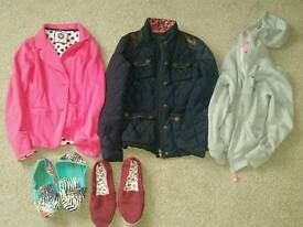 Bundle of girls clothes age 10 - 12 years