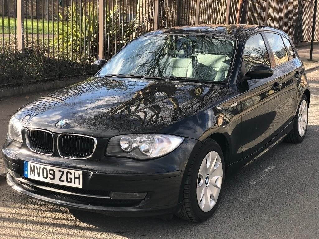 BMW 1 SERIES 118D 2.0 SE DIESEL 2009 MANUAL WITH SERVICE HISTROY AND FULL  MOT