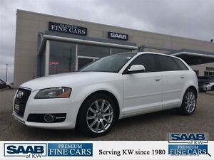 2011 Audi A3 ACCIDENT FREE DIESEL TDI Premium Leather Panoroof