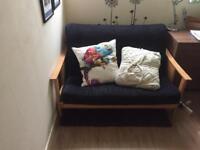 Kyoto Atlanta Futon sofa bed - double , wooden frame