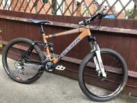 Kona dawg Full Suspension Mountain Bike Will Post
