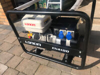 4.1KW LONCIN 16A Petrol GENERATOR (unused/new/old stock)