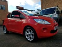2009 Ford KA Zetec 1.2 - Low Mileage - £30 A Year Tax - 3 Months Warranty
