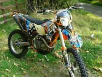 Ktm 450 exc 2010. Road Legal Enduro