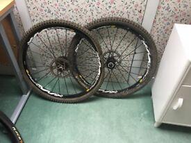 Mavic Crossmax XL wheelset