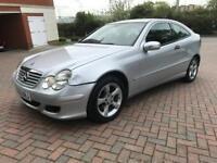 Mercedes C220 CDi Automatic Diesel MOT £1650ono