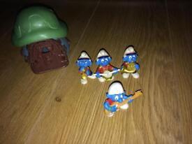 Smurf vintage figures set/ collection