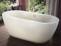 BRAND NEW CURVED BATH 1600MM - £199 ONO
