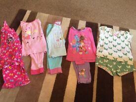 Girls pyjamas 2-3