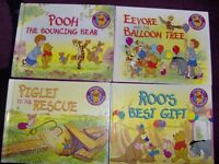 A SET OF 4 DISNEYS WINNIE THE POOH AND FRIENDS BOOKS