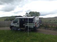 2009 Peugeot Boxer Camper Day Surf Van. 93000 miles, 12 month MOT, awning, bike rack, many extras
