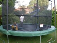 Trampoline - old but functional and FREE.