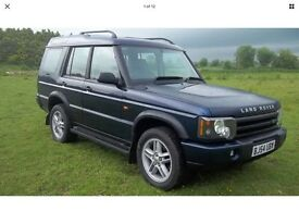 Landrover discovery 2 TD5, Manual, 2004 leather facelift model