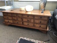 Laura Ashley TV stand and coffee table to match