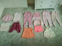 Girl clothes bundle 6-24 months
