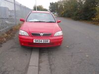 Vauxhall Astra Estate 2004 1.6 petrol 5 door Hatchback Estate 1 Year M.O.T.
