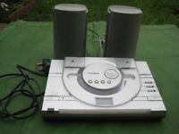 Technika Flat Bed CD Micro Stereo Hi-Fi System - Model MC-307
