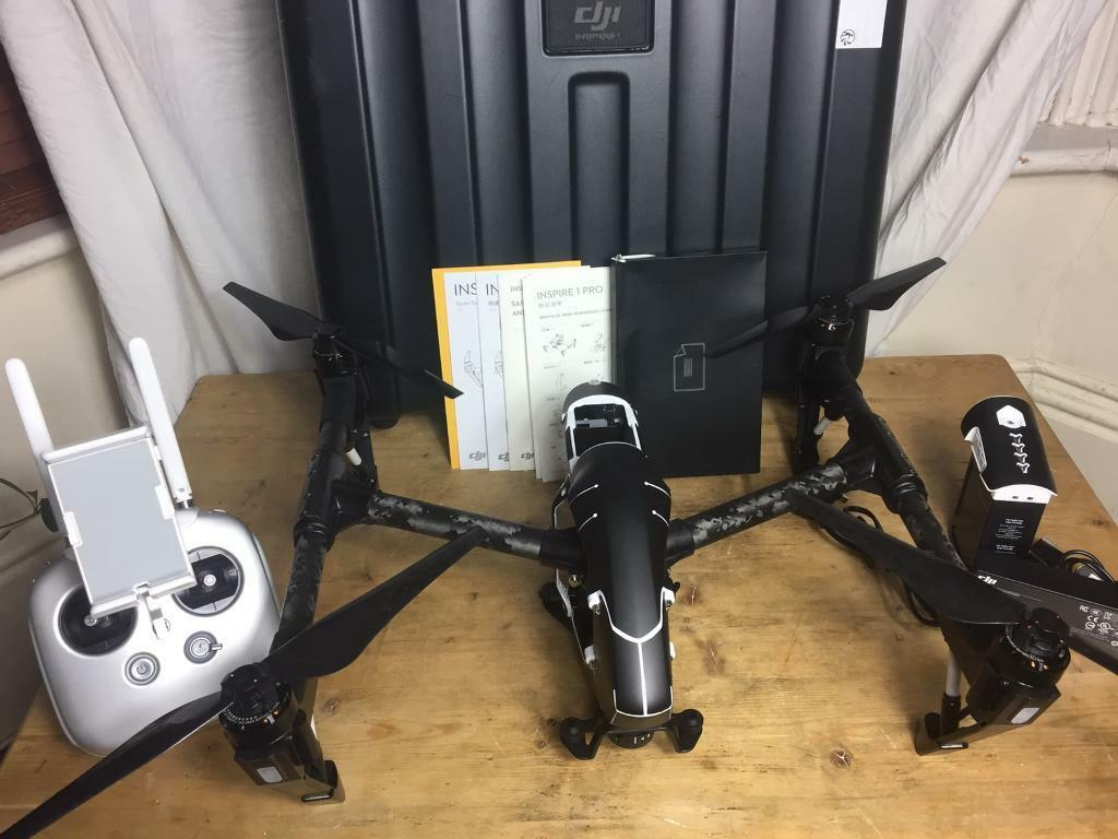 DJI Inspire One Pro Drone quadcopter x5 mount