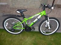 KIDS CARRERA MONTAIN BIKE EXCELLENT CONDITION ONLY £60