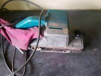 Makita 240v belt sander in good working order