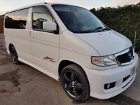 MAZDA BONGO CAMPERVAN 3 BERTH 6 SEAT WITH KITCHEN, ONE OF THE LAST MADE SUPER CLEAN!