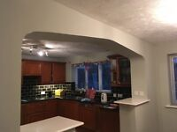 Full kitchen includes dishwasher double electric oven