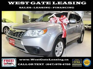 2013 Subaru Forester | AWD | BLUETOOTH | 0% INTEREST RATE |