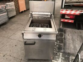 CATERING COMMERCIAL FRYER TWIN BASKET FAST FOOD RESTAURANT KEBAB CHICKEN FISH CHIPS SHOP TAKE AWAY