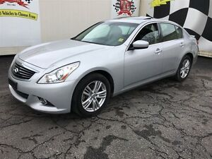 2013 Infiniti G37 Luxury,Leather, Sunroof, AWD, Only 64,000km