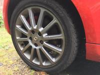 "Clio 197 F1 R27 Team 17"" Alloys with tyres"