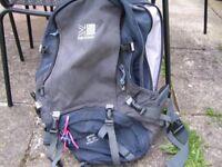 Large Karrimor Backpack
