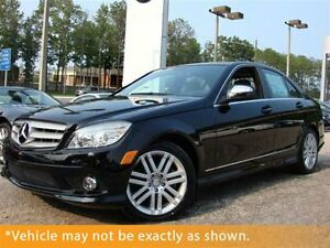 2008 Mercedes-Benz C-Class 2008 Mercedes-Benz C300, LOW kms, PWR
