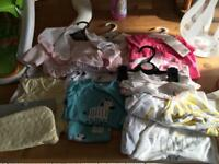 Bundle baby girls clothes.