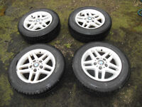 """15"""" ALLOY WHEELS FROM 3 SERIES BMW"""
