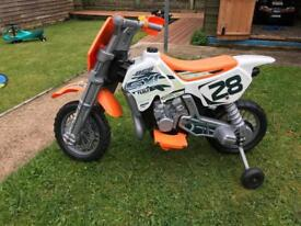 Electric moto x bike