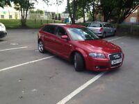 Audi A3 TDI SPORT 2007 5 DOOR 85k SERVICE HISTORY ..EXCELLENT CONDITION....BARGINE